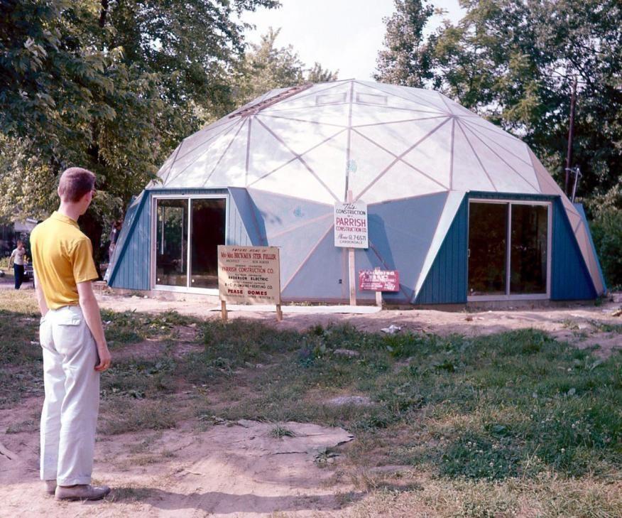 maison dome