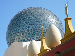 Famous Geodomes | The Glass Dome in Dali Museum
