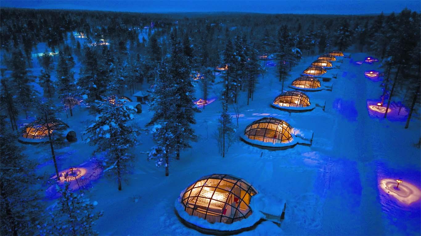 Hotel geodesique