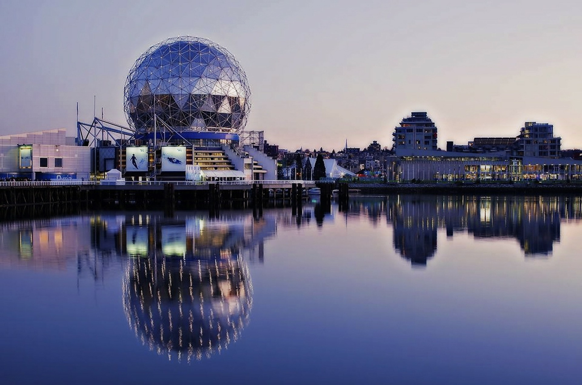 Famous Geodomes | Telus Sphere at Vancouver's Science World