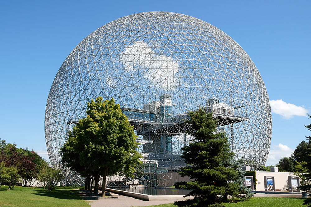 Famous Geodomes | Montreal Biosphere
