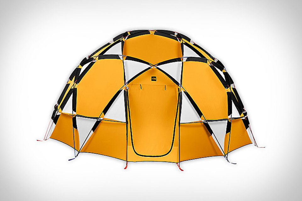 tente dome camping