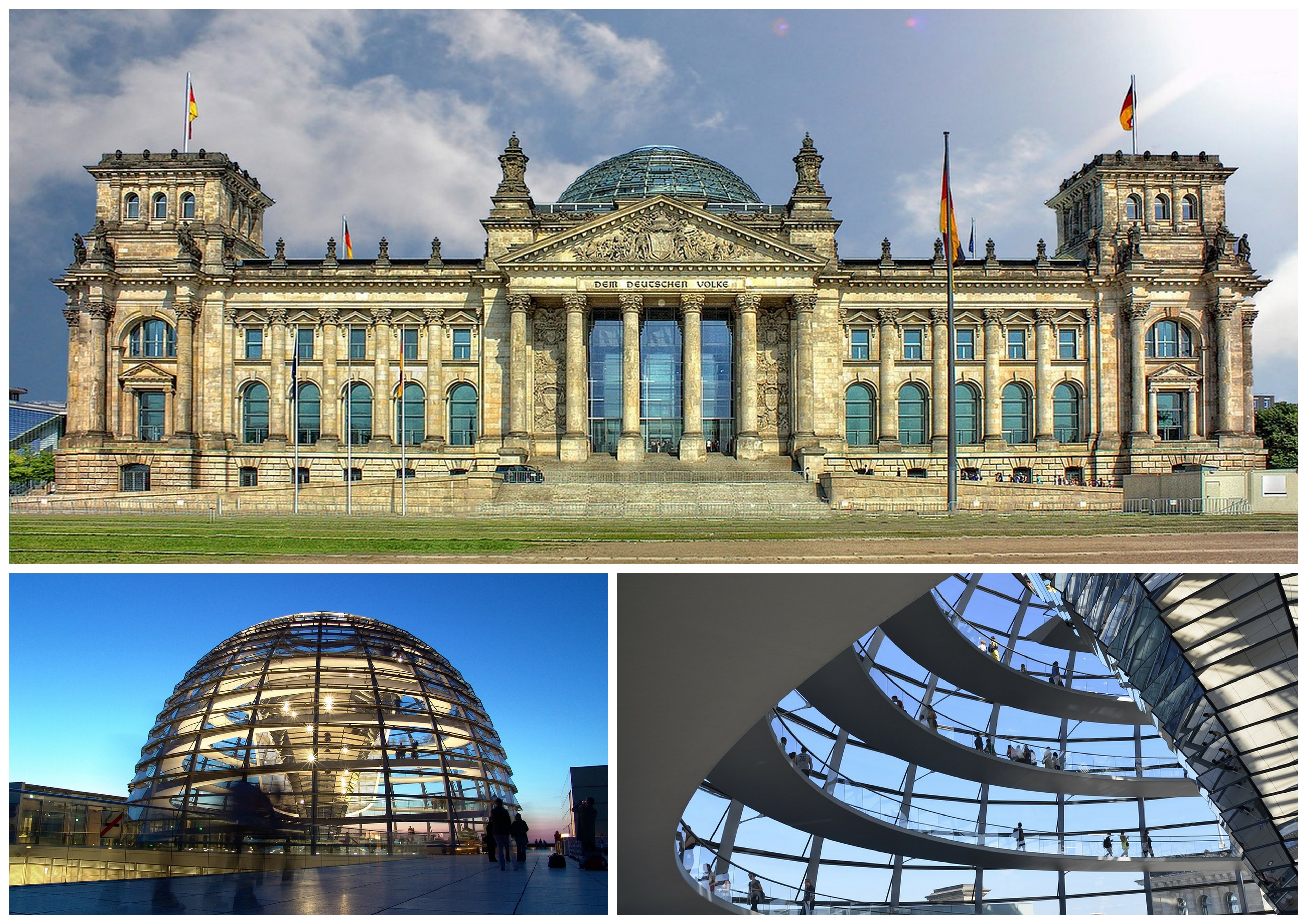 50 Geodesic Domes Around the World | Reichstag Dome