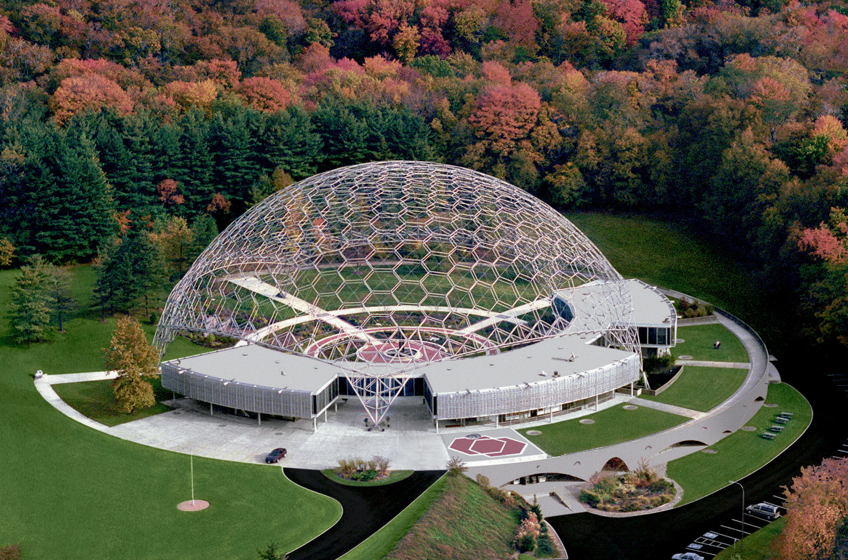 50 Geodesic Domes Around the World | ASM International Materials Park