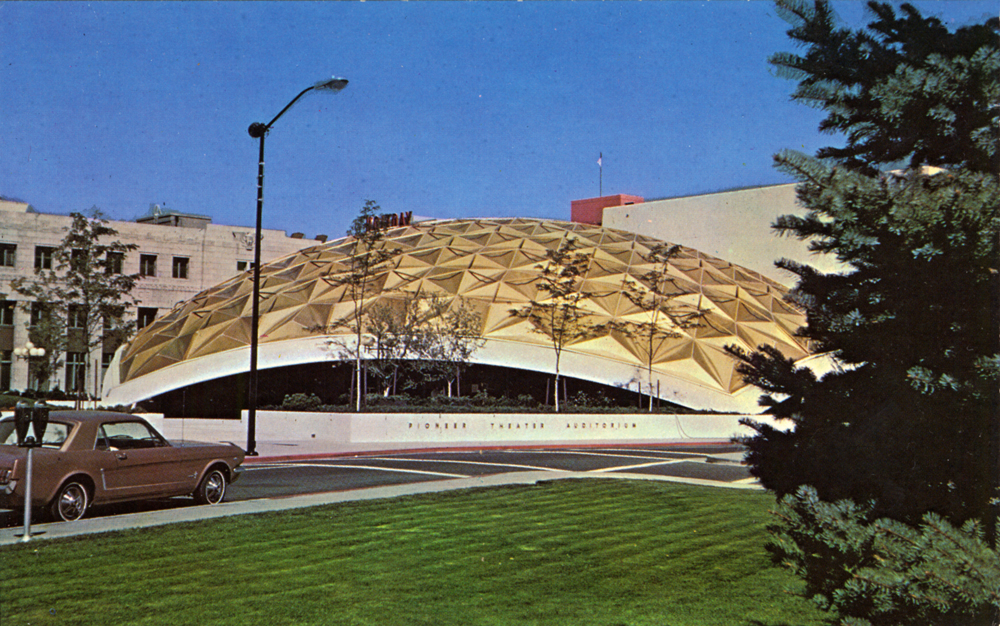 50 Geodesic Domes Around the World | Pioneer Theater Auditorium at Reno