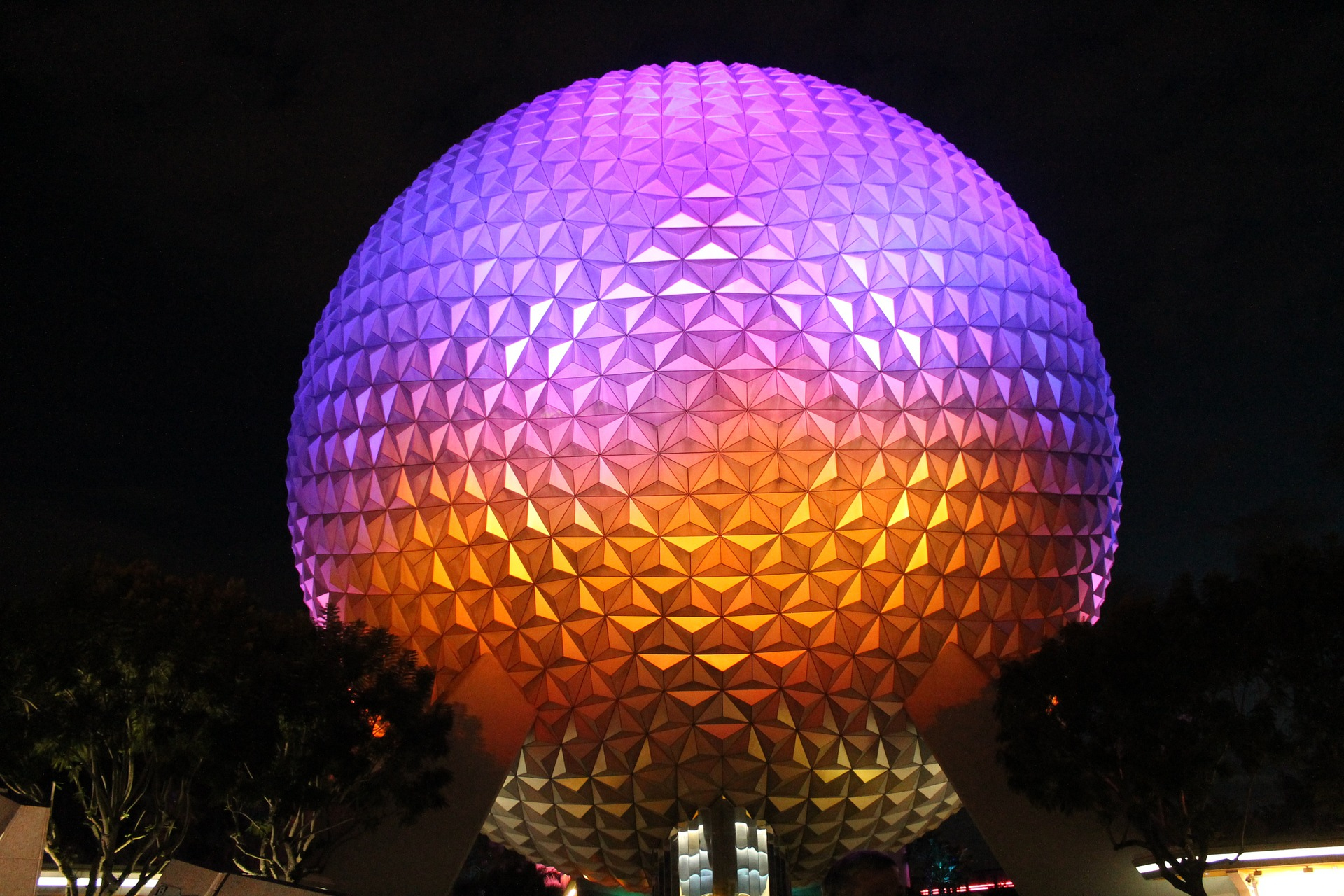 50 Geodesic Domes Around the World | Spaceship Earth at Epcot Center