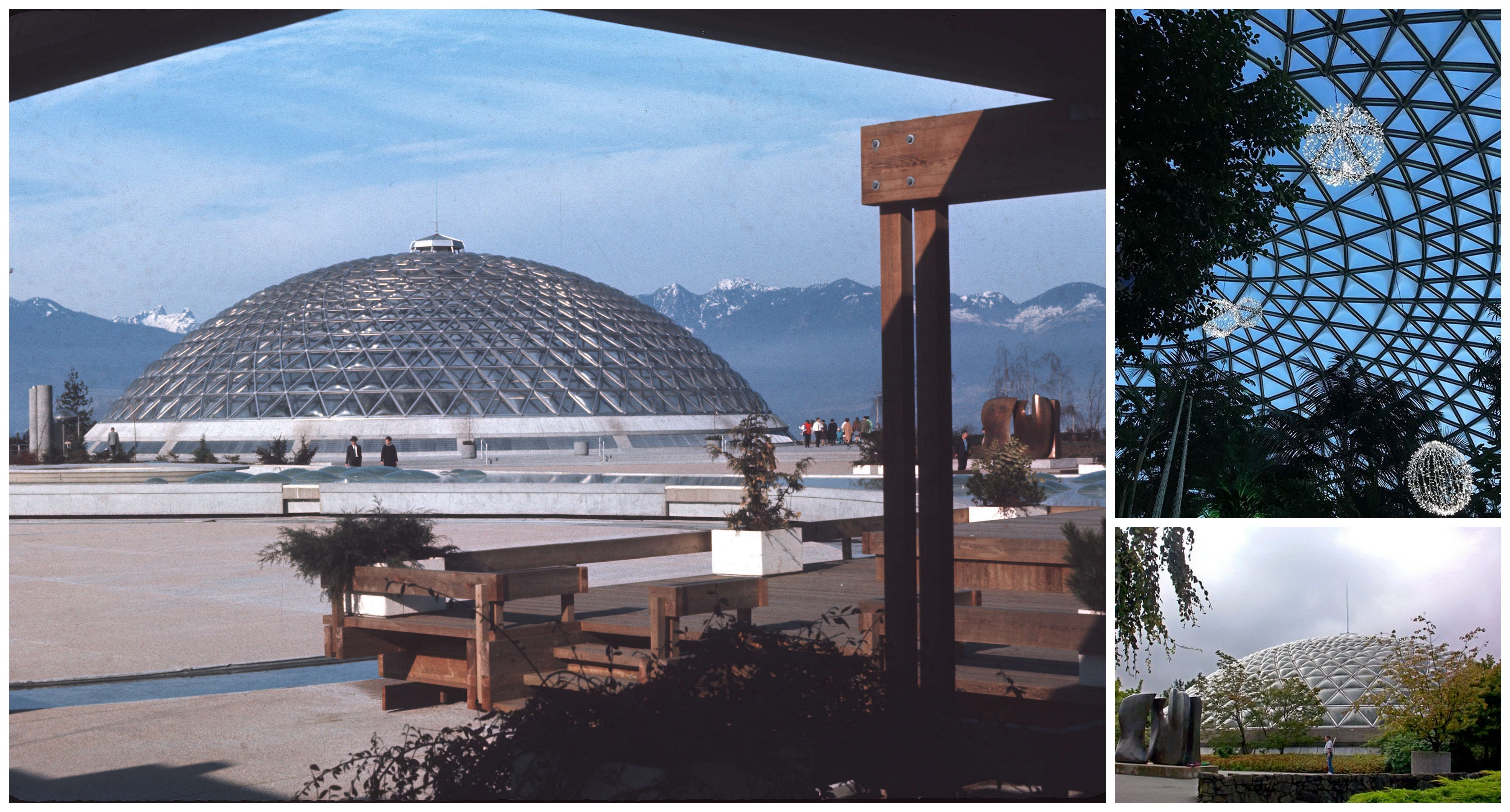 50 Geodesic Domes Around the World | Bloedel Conservatory in Vancouver