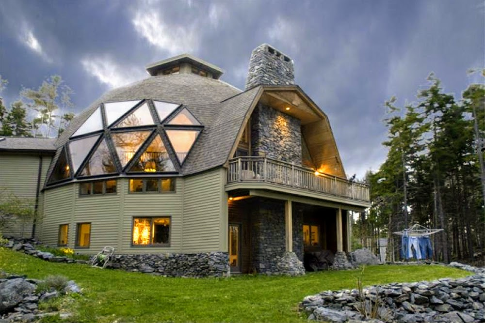 dôme géodésique maison