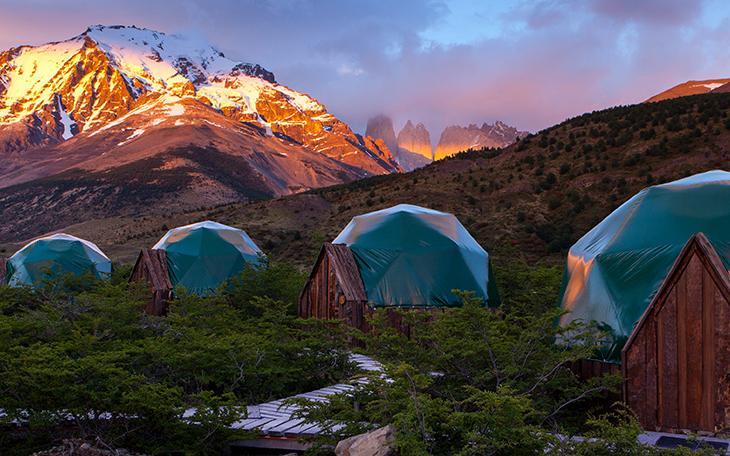 30 Dômes Géodésiques Incroyables -EcoCamp Patagonia Domes