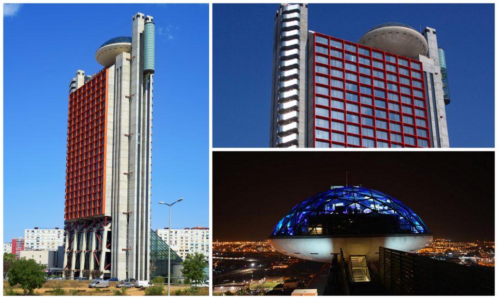 30 Dômes Géodésiques Incroyables - Le Dôme de la NH Collection Barcelona Tower