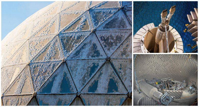 30 Dômes Géodésiques Incroyables - Laboratoire de propulsion aéro-acoustique du Centre de recherche Glenn de la NASA