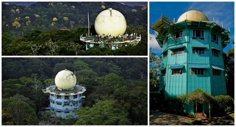 30 Dômes Géodésiques Incroyables - Canopy Tower