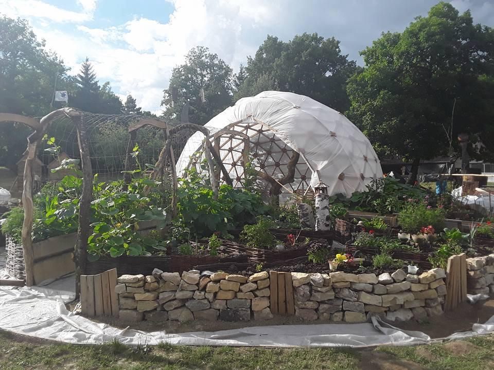 dôme géodésique habitat
