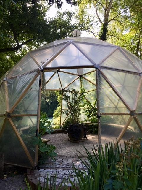 dome geodesique autoconstruction