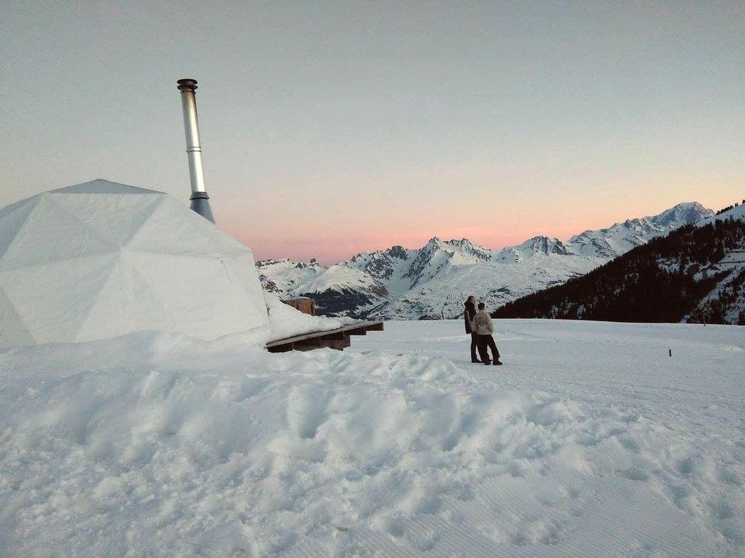 Hot igloo Mont Blanc