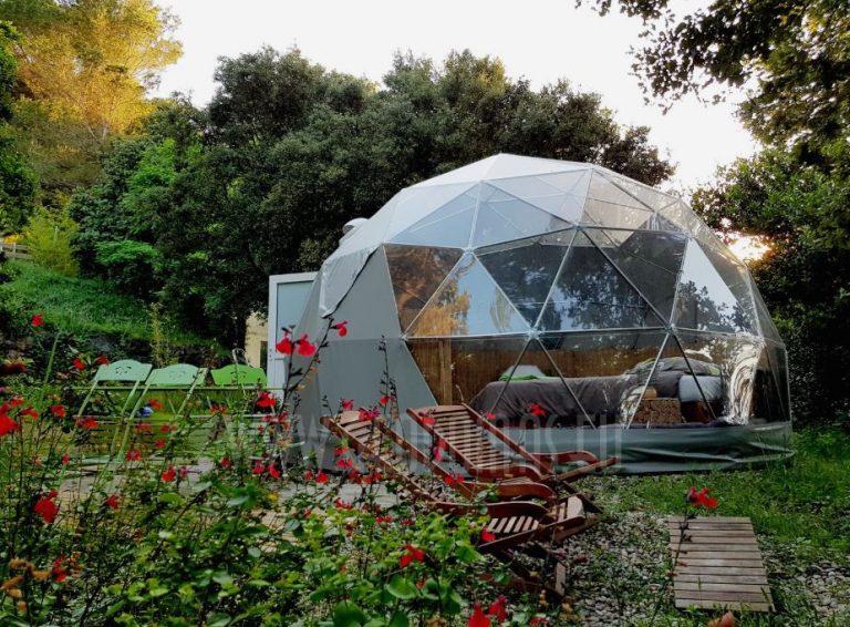 dome geodesique energie