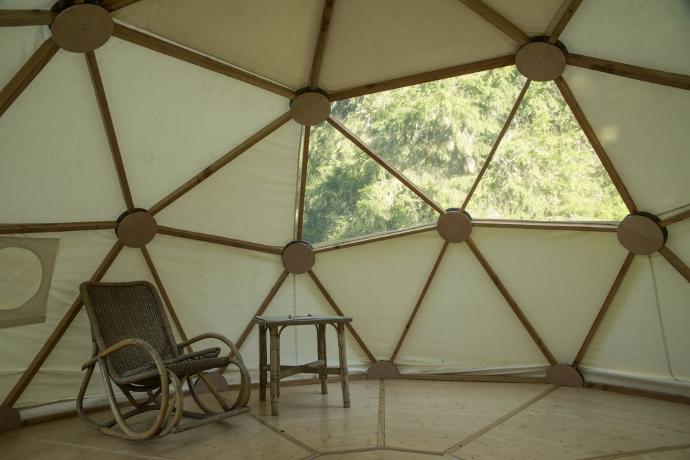 dome geodesique