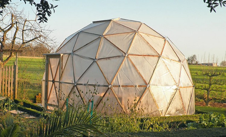 dome geodesique materiaux