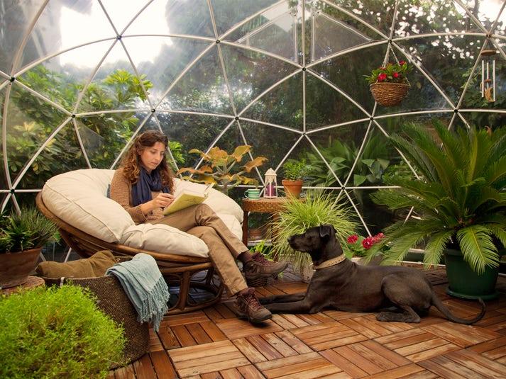 igloo de jardin bulle