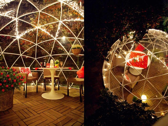 serre de jardin igloo