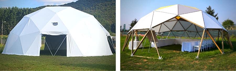 Ekodome - Kit de dôme géodésique DIY