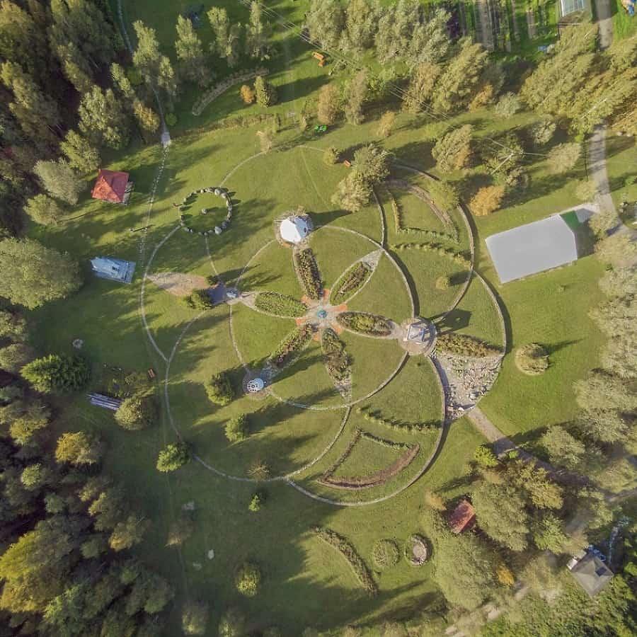 exemple d'écovillage - Lilleoru Estonie