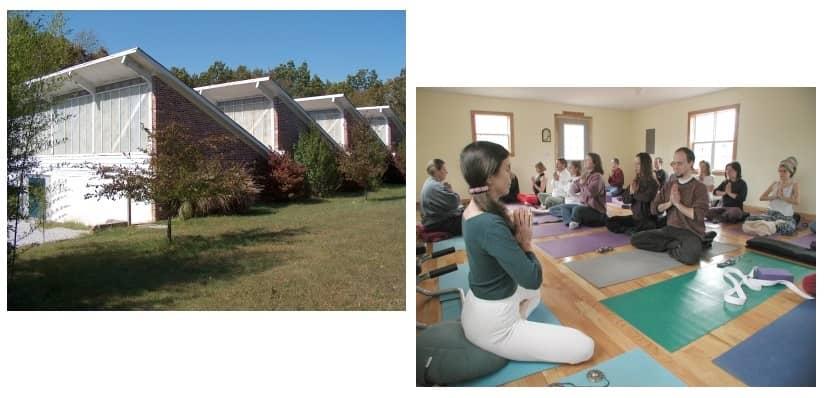 La ferme-école et le studio de yoga